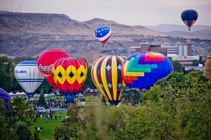 7. Spirit of Boise Balloon Classic, Boise (Aug. 31-Sept.4)