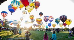 The Most Magical Hot Air Balloon Festival In Idaho Is Happening Right Now