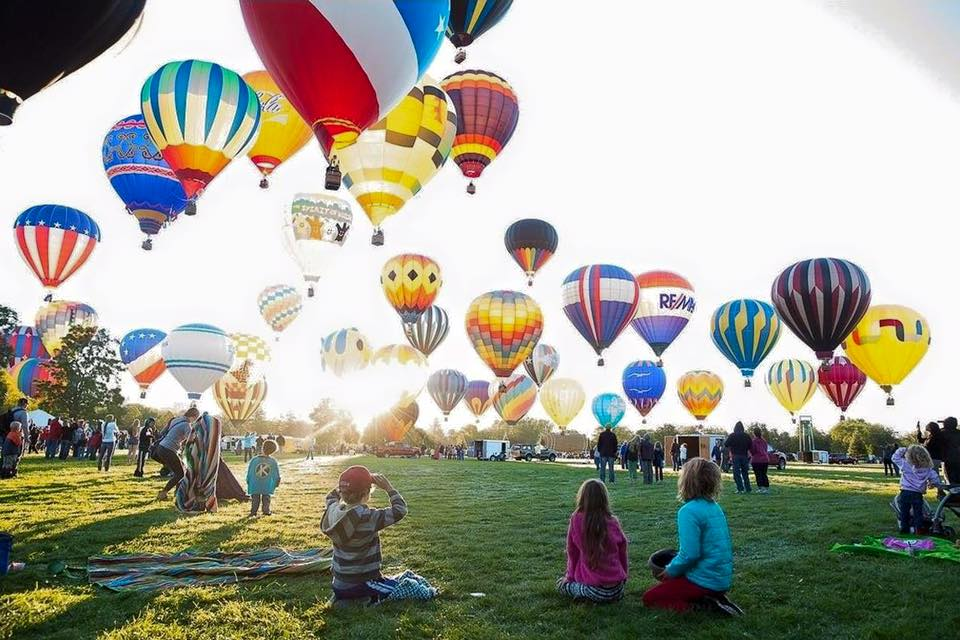 The Spirit Of Boise Balloon Classic Is Happening In Idaho Now