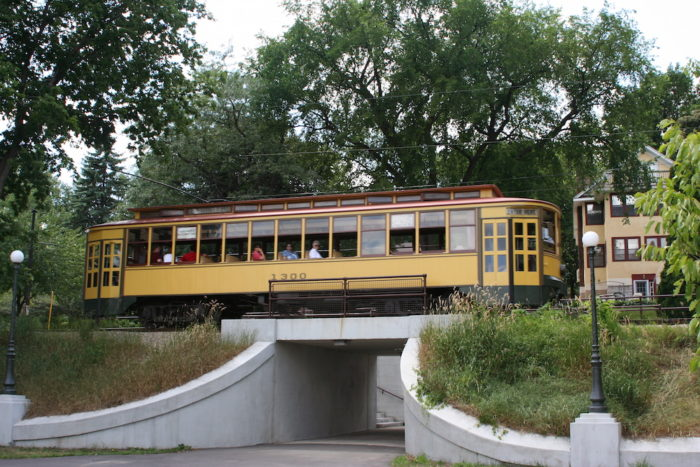 Streetcar No. 1300 is probably the most well-known of these trolleys. Built in 1908, it is over 100 years old.