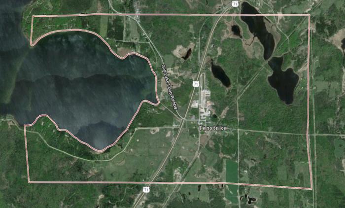 15. Tenstrike, Beltrami County