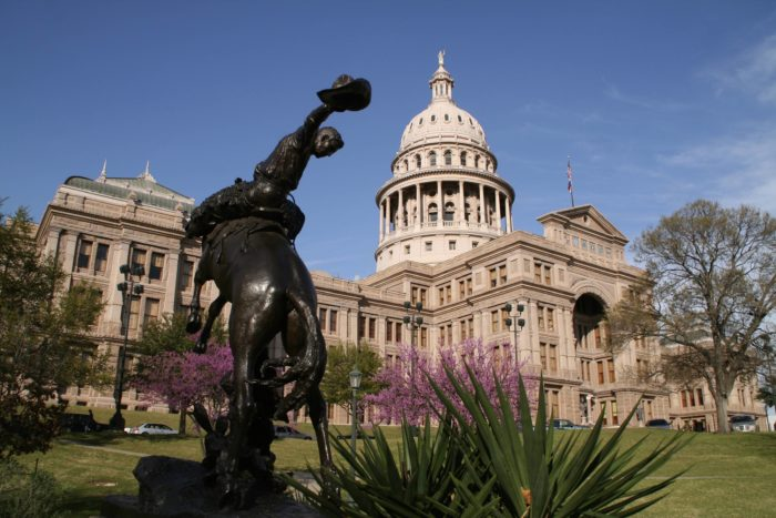 3. Every monumental moment required a photo session at the Texas State Capital
