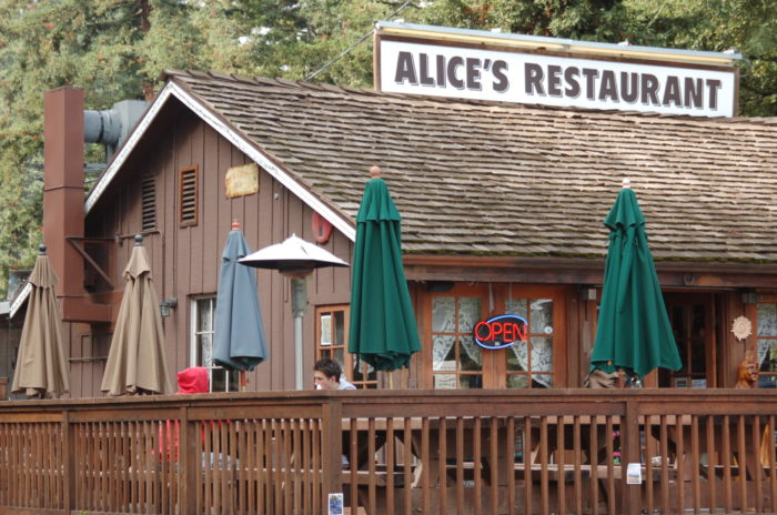 The infamous Alice's Restaurant - Hwy 17-917854617