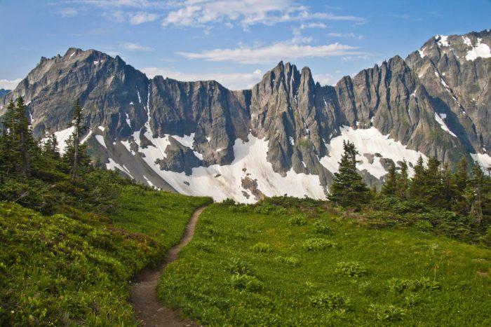8. Enjoy the wilderness at North Cascades National Park.