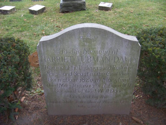 5. Harriet Tubman - Fort Hill Cemetery, Auburn