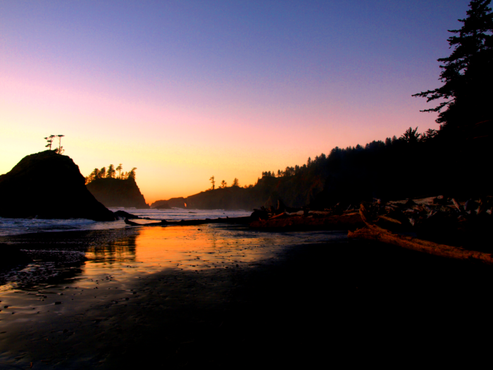 Twilight on Second Beach- La Push-3249991236