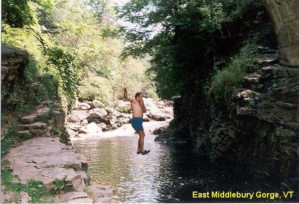 9.  East Middlebury Gorge, Middlebury
