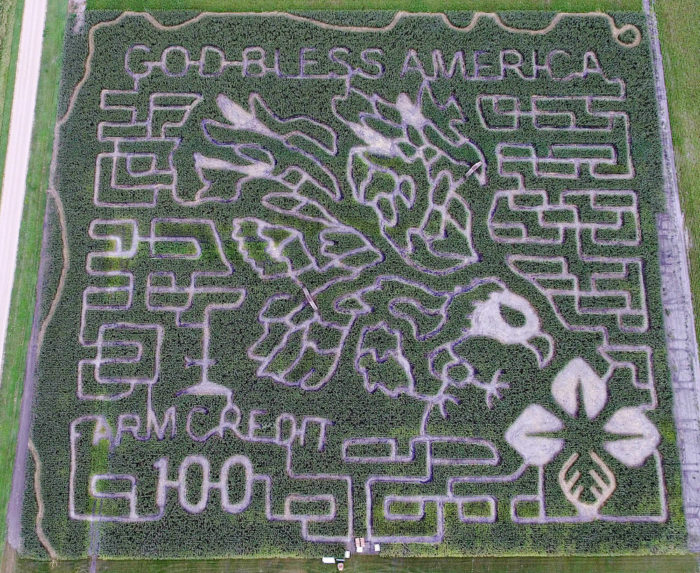 10. Valley Corn Maize, East Grand Forks