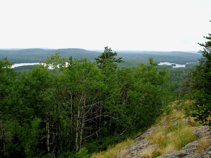 3. The view from Eagle Mountain.