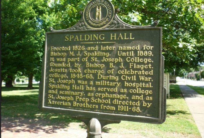 Visit the historic Spalding Hall.