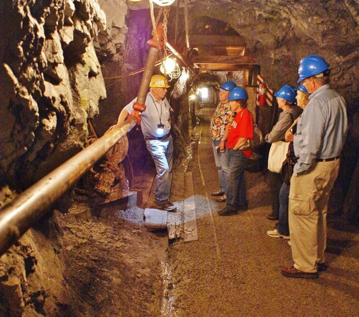 Ride a historic trolley to the Sierra Silver Mine.