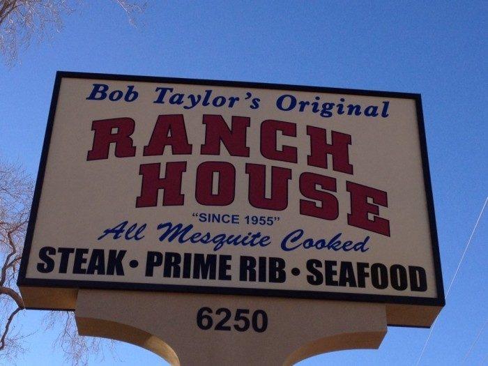 9. 1955: Bob Taylor's Original Ranch House