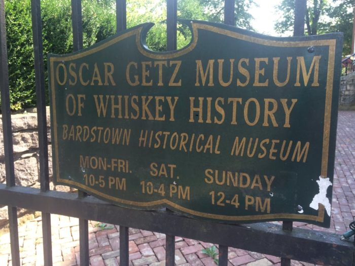 You can visit the Oscar Getz Museum of Whiskey History, Spalding Hall.