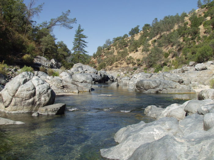 The Yuba River is another scenic highlight of Nevada City. Less than a mile from downtown, you can take a stroll on the Hirschman Trail through tall pines and oak trees and walk down to the water's edge.