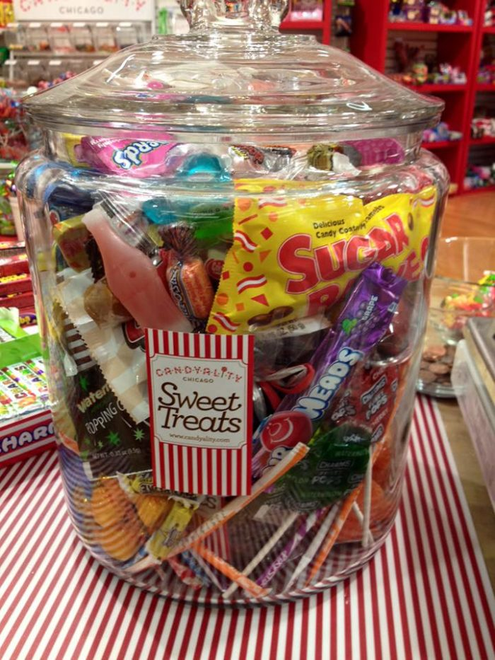 They have loads of retro candy here, as well.