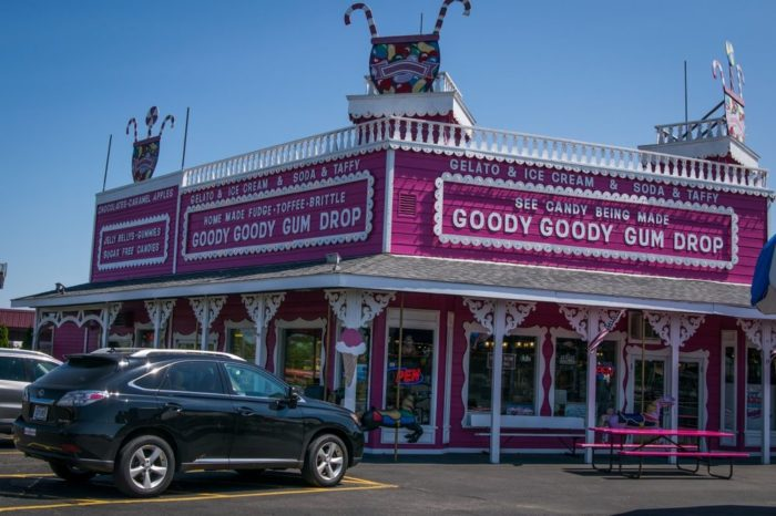 This fantastic candy store has been around since 1975.