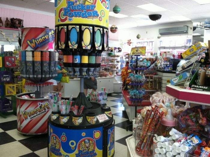 In fact, they have over 1,000 types of candies.