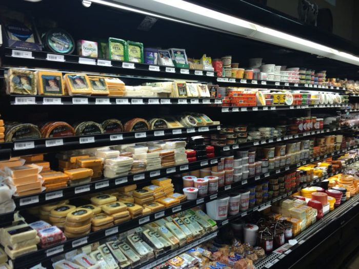 There are literally hundreds of examples of cheese.