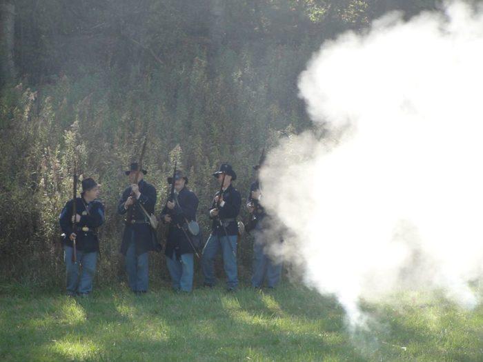 8. Norskedalen Civil War Heritage Weekend (Coon Valley)