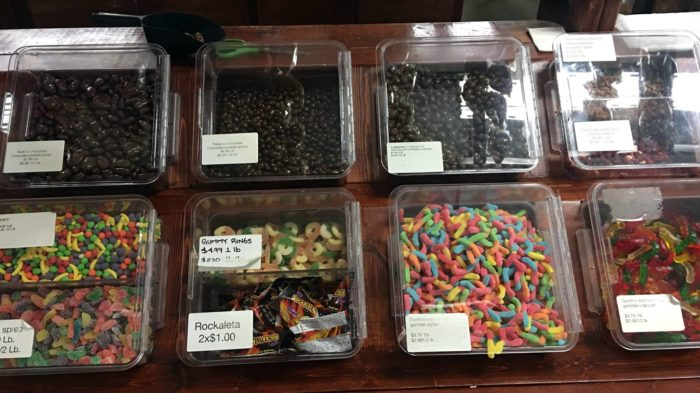 And you will love the bulk candy.