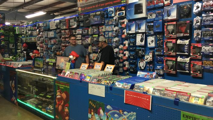 This is your one stop shop for toys and video games.
