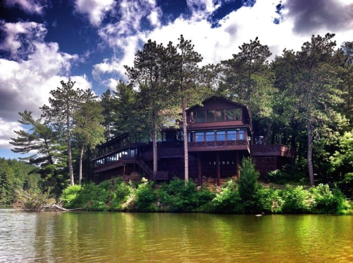 The Ishnala Supper Club is located in the middle of Mirror Lake State Park, a 2100 acre Wisconsin state park in Baraboo.
