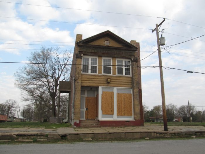 The major problem for this town has always been its location, right along the Ohio River.