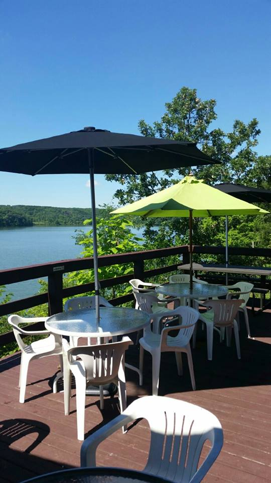 This full service restaurant has one of the most scenic views in all of Wisconsin.
