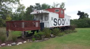 This Train In Wisconsin Is Actually A Cabin And You Need To Visit