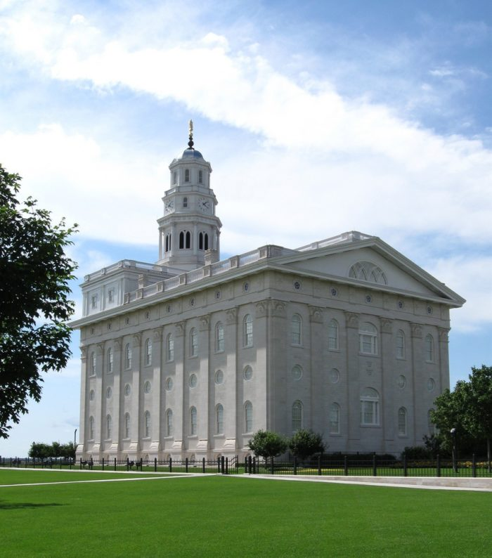 Today, there is a beautiful Mormon temple.
