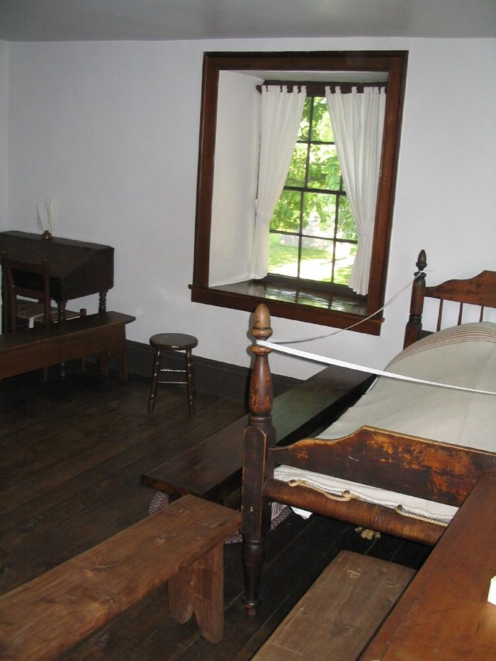 There are restored homes and public buildings for you to explore.
