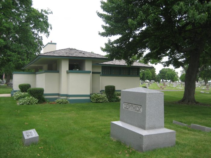 A grieving wife commissioned a chapel by Frank Lloyd Wright to commemorate the loss of her husband.
