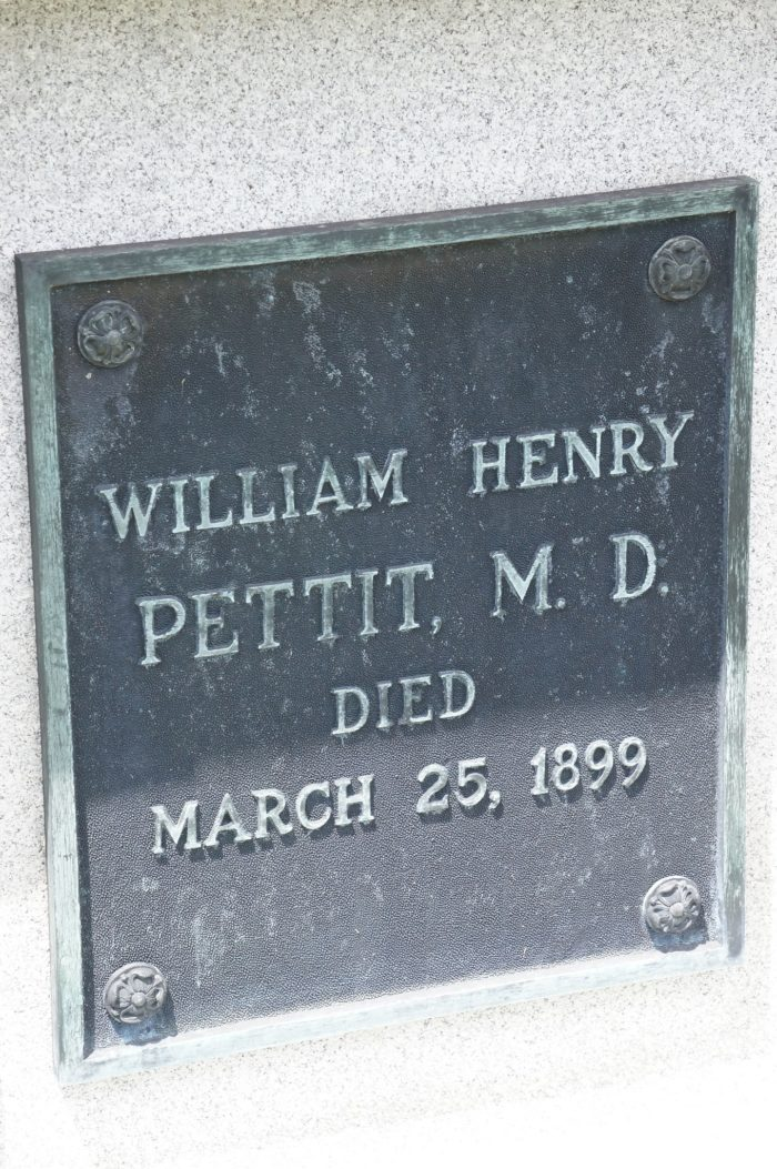 Mr. Pettit was a well-known and respected doctor and humanitarian.