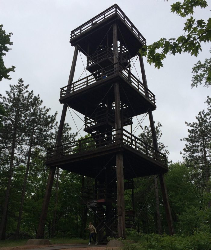 For even more spectacular views, check out this observation tower, and see the Wausau area and Wisconsin River like never before.