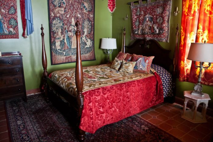 Each room has a theme, all of which are whimsical.