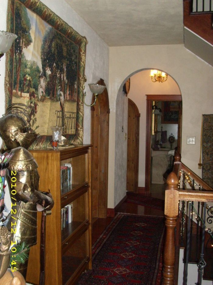 Of course, there is plenty of armor and old-style doorways.