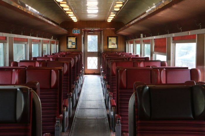 9. Enjoy the day and take it easy on the Adirondack Scenic Railroad.