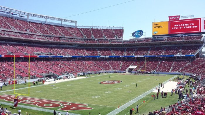 6.  When you go to San Francisco to see the 49ers play, you're NOT from here.