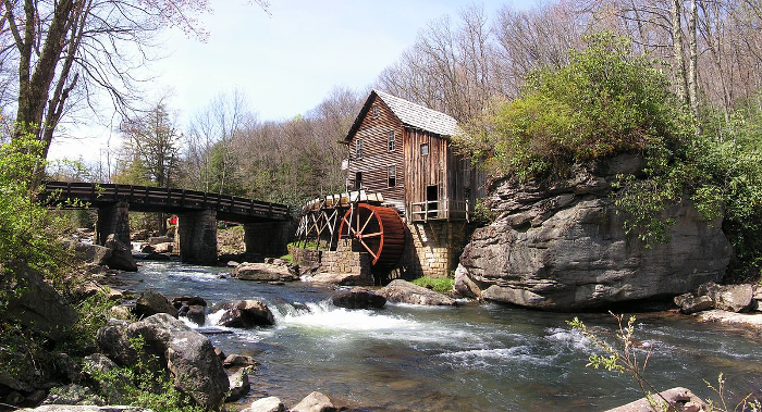 It's best known for the Glade Creek Grist Mill.