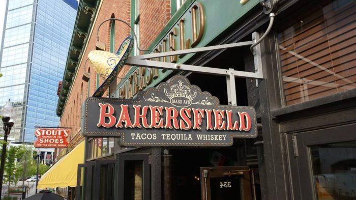 1. Bakersfield - Indianapolis