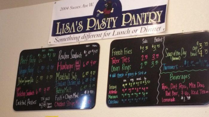 7. Lisa'a Pasty Pantry, Missoula