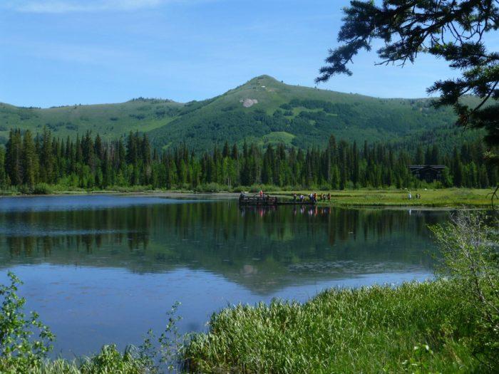 4. Silver Lake, Big Cottonwood Canyon