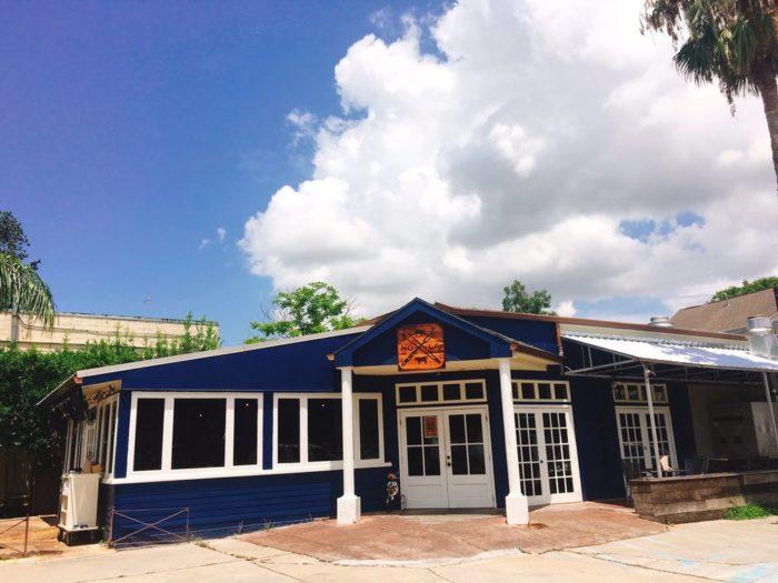 2) Blue Oak BBQ, 900 N. Carrolton St.