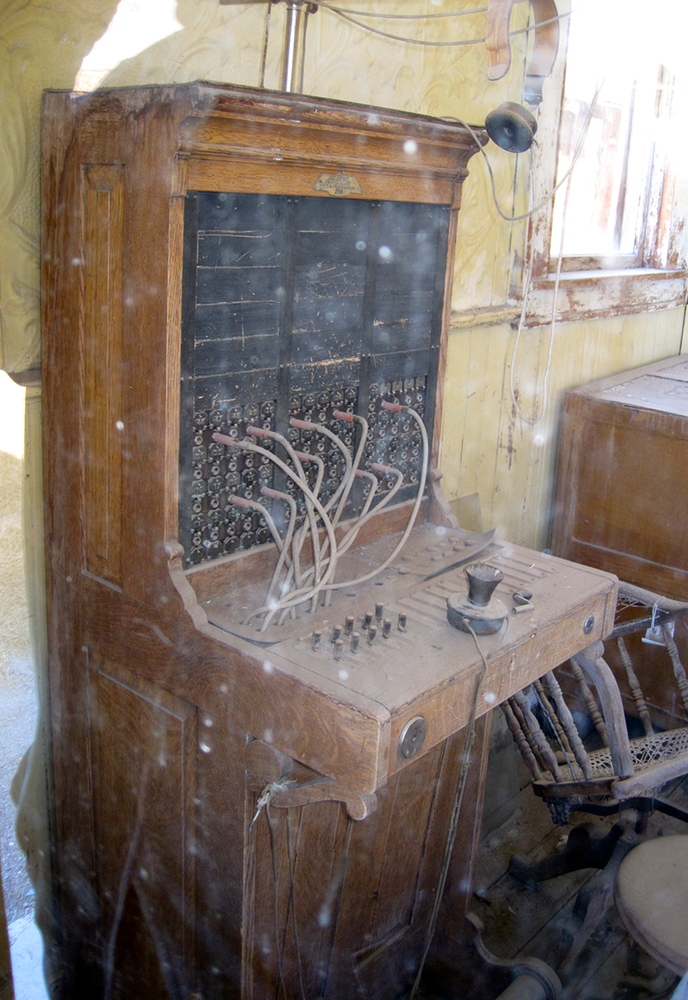 In 1877 a telegraph line was put in place that connected Bodie with Genoa, Nevada. The town also had a newspaper that came out three times a week: The Standard Pioneer Journal of Mono County. This was the third largest city in California for its time.