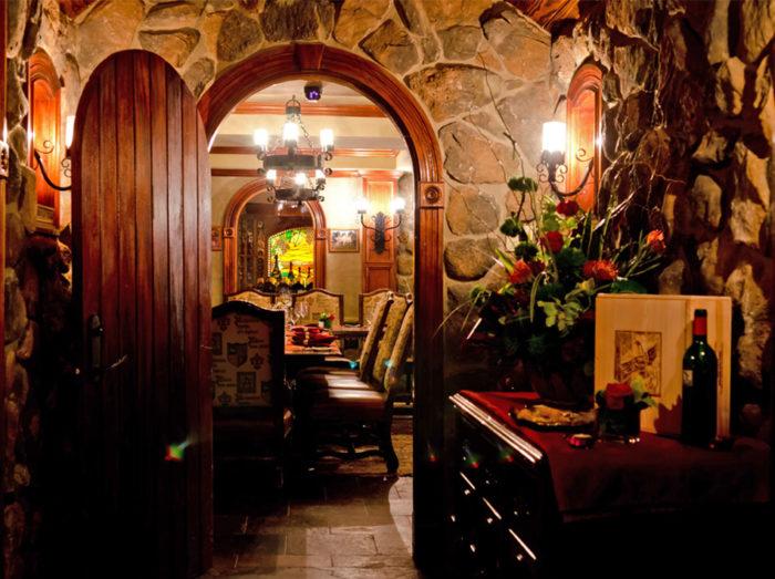 Entering The Bordeaux Room