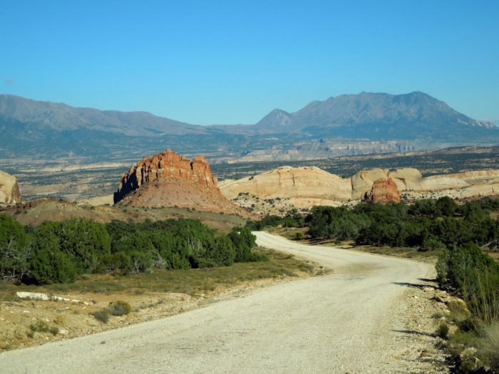 You might experience some washboard along the unpaved portion, but the views are worth it.
