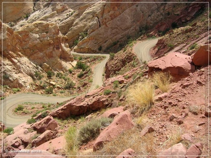 These switchbacks, however, are not for the faint of heart.