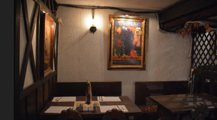 At Weinkeller Restaurant, life is a Cabernet.