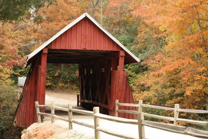 5. Campbell's Covered Bridge - Landrum