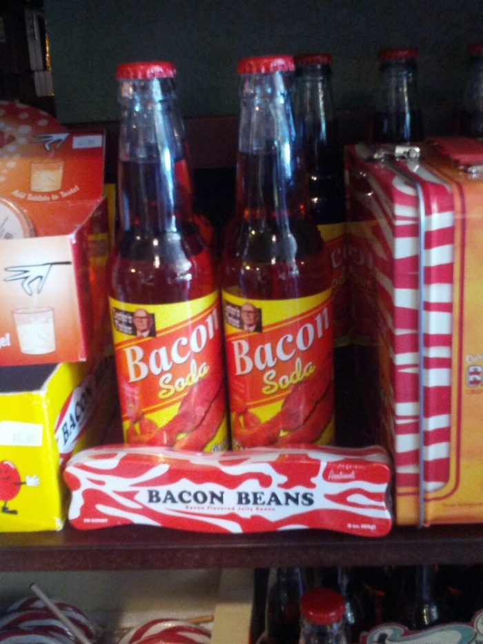 Bacon soda? Absolutely! If you love fizzy drinks then you'll be ecstatic over their soda pop selections.